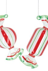 Wink Glass Candy Ornaments