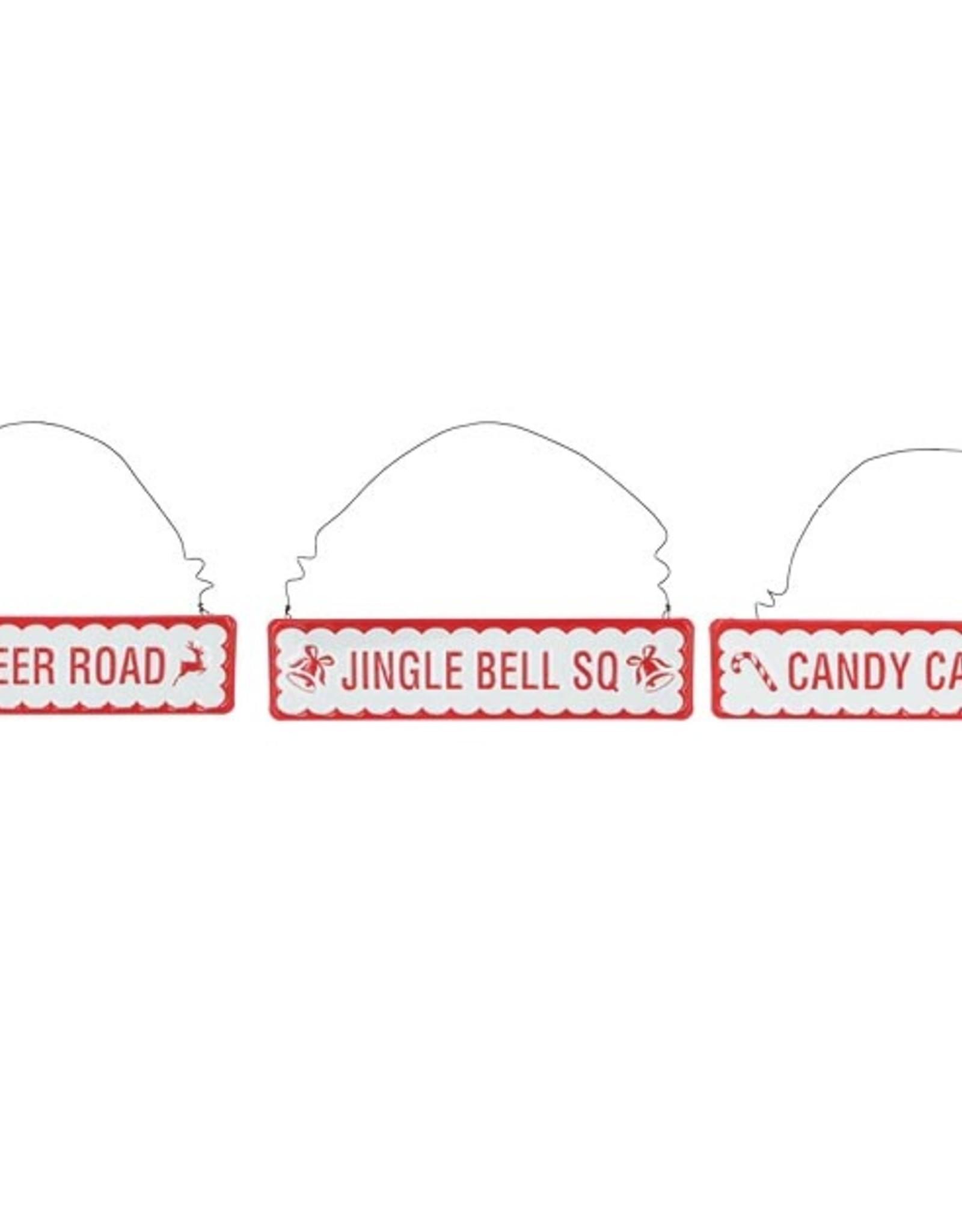 Wink Road Sign Ornaments