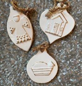 Wink Ceramic Hymn Ornament