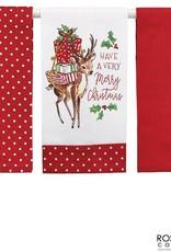 Wink Classic Reindeer Tea Towel Set