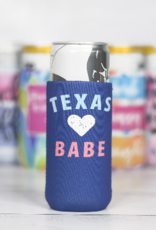 Wink Texas Babe Slim Can Cooler