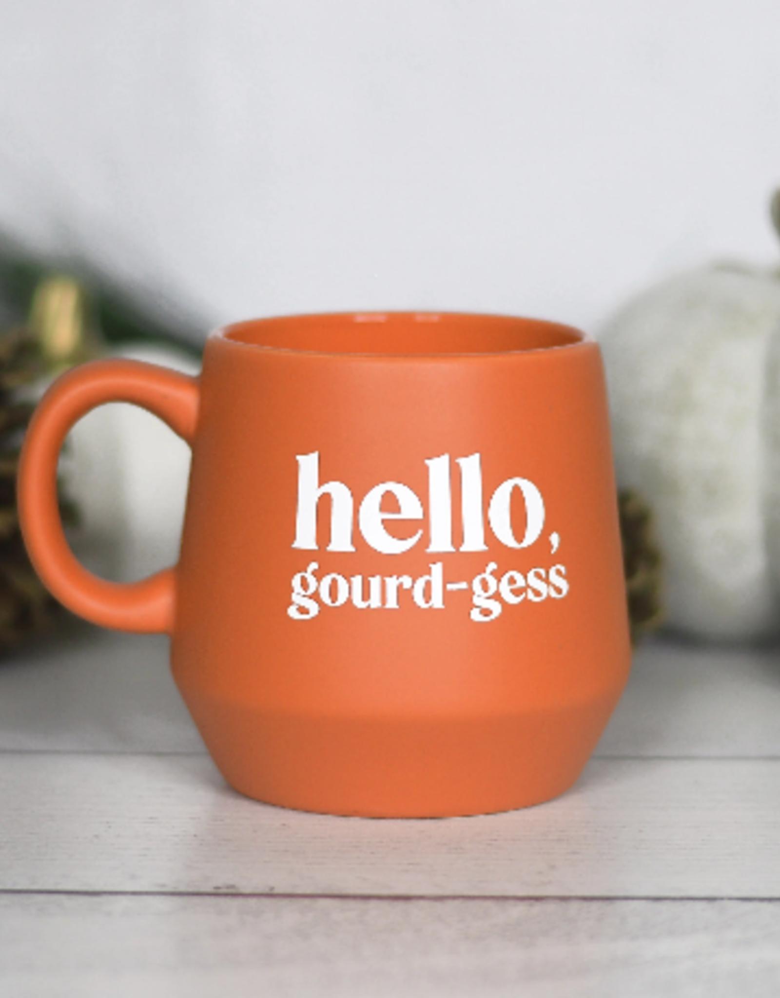 Wink Hello Gourd-gess Mug