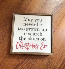 Wink Christmas Decor - May You Never Be Too Grown