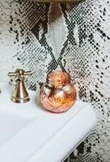 Wink Sweet Grace Mercury Glass Jar Candle  8.5oz.
