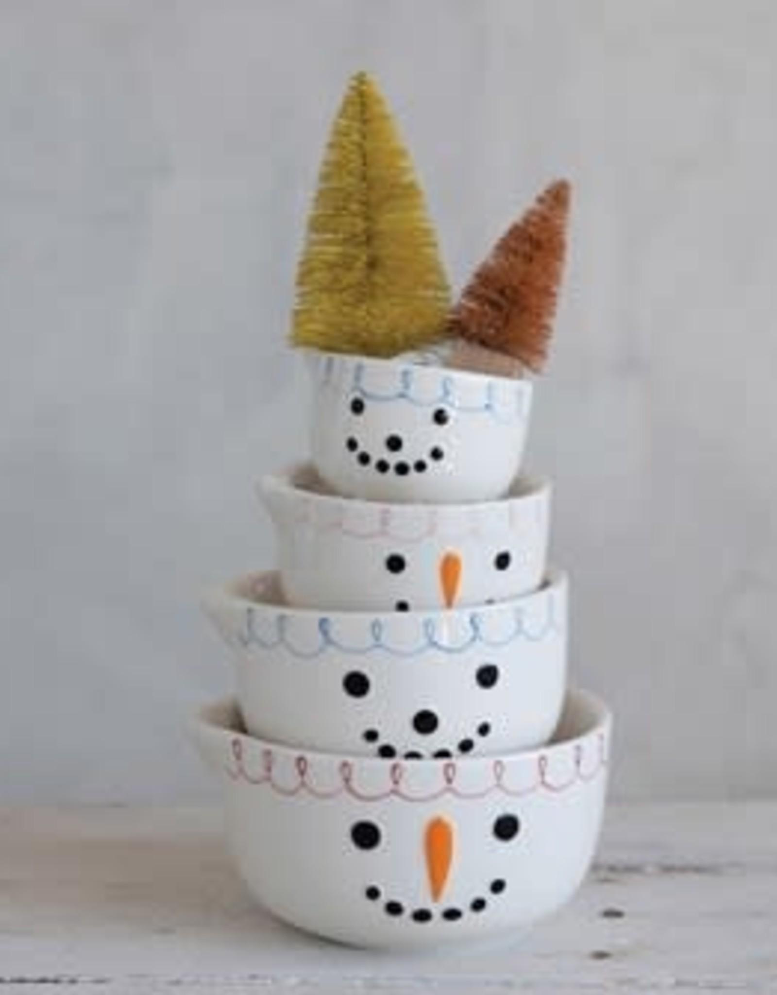 Snowman Measuring Cup Set