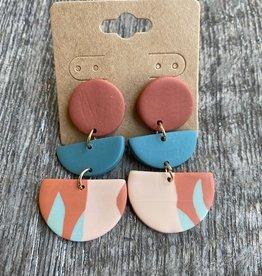 Wink The Jaycee Clay Earrings
