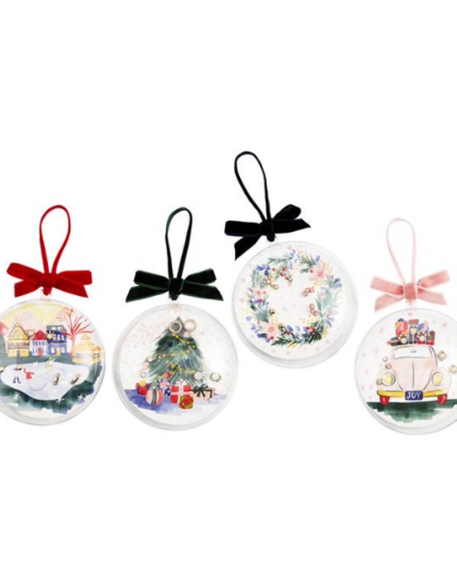 Mud Pie Stud Earrings Ornament Gift Set