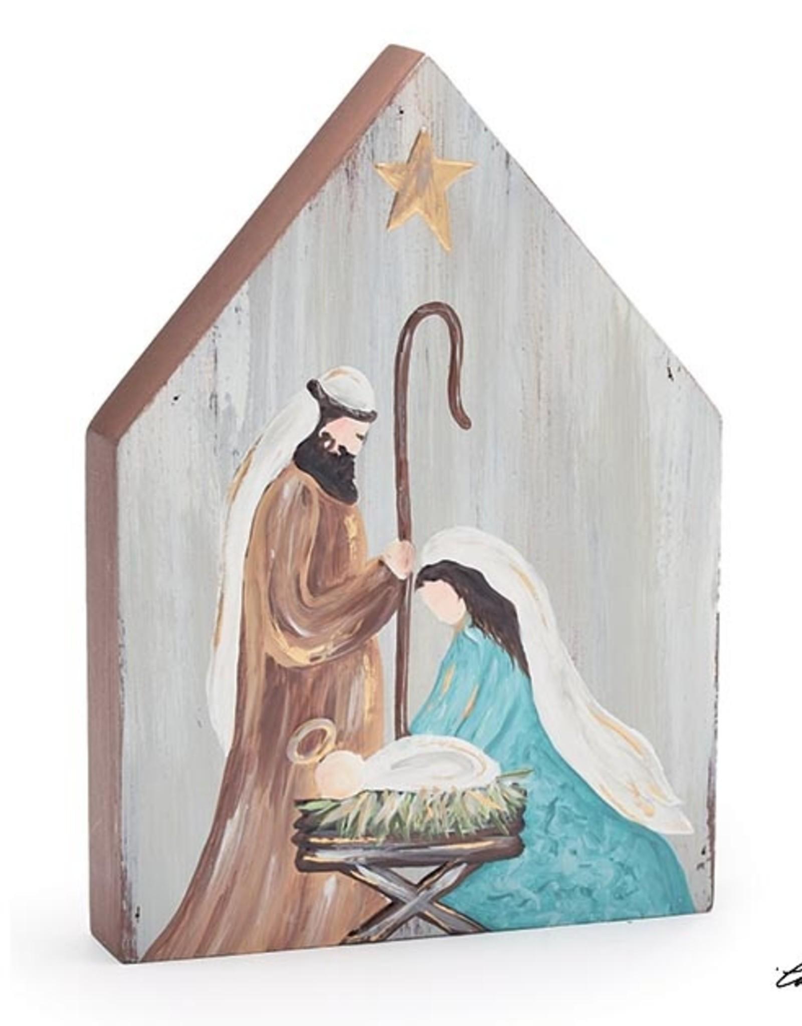 Wink Holy Family Nativity  Shelf Sitter