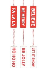Wink Candy Cane Bar Ornaments