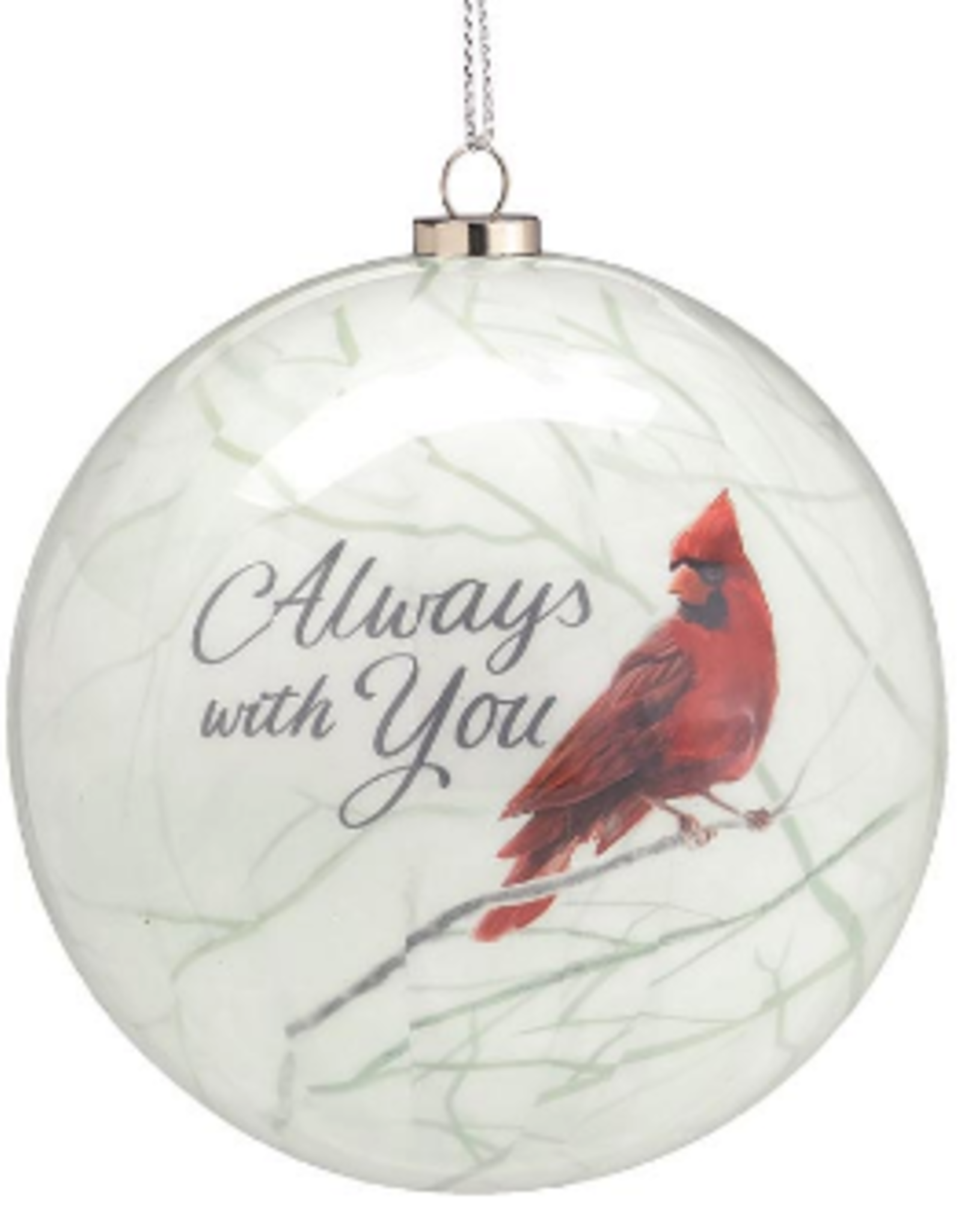 Cardinal Always With You Ornament