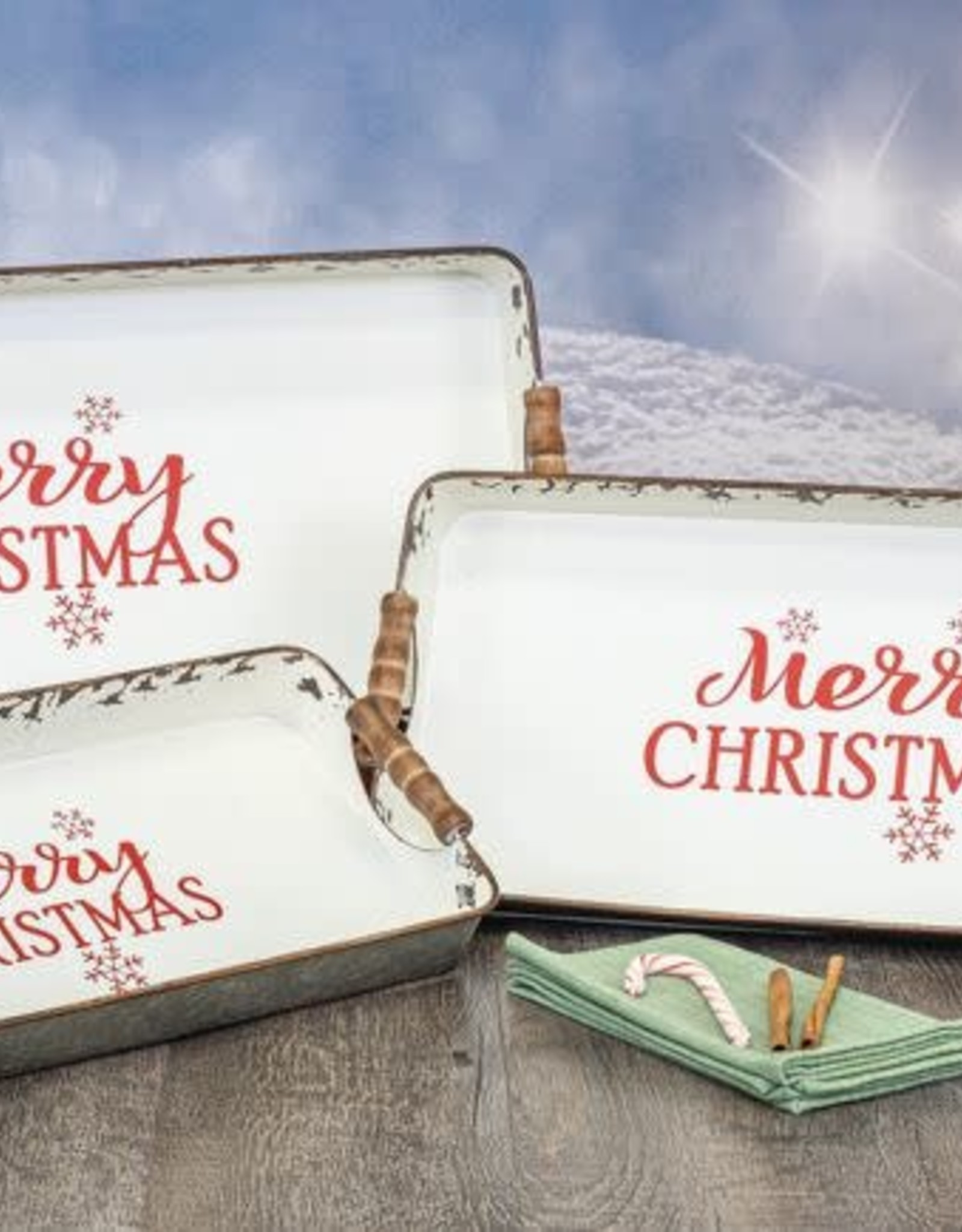 Wink Vintage Christmas Serving Tray-Medium