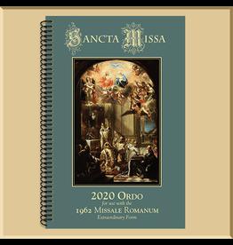 2020 Ordo for the 1962 Missale Romanum