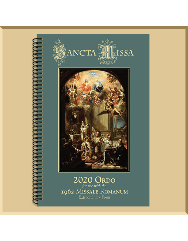 2020 Ordo for the 1962 Missale Romanum