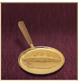Communion Paten with High Edge