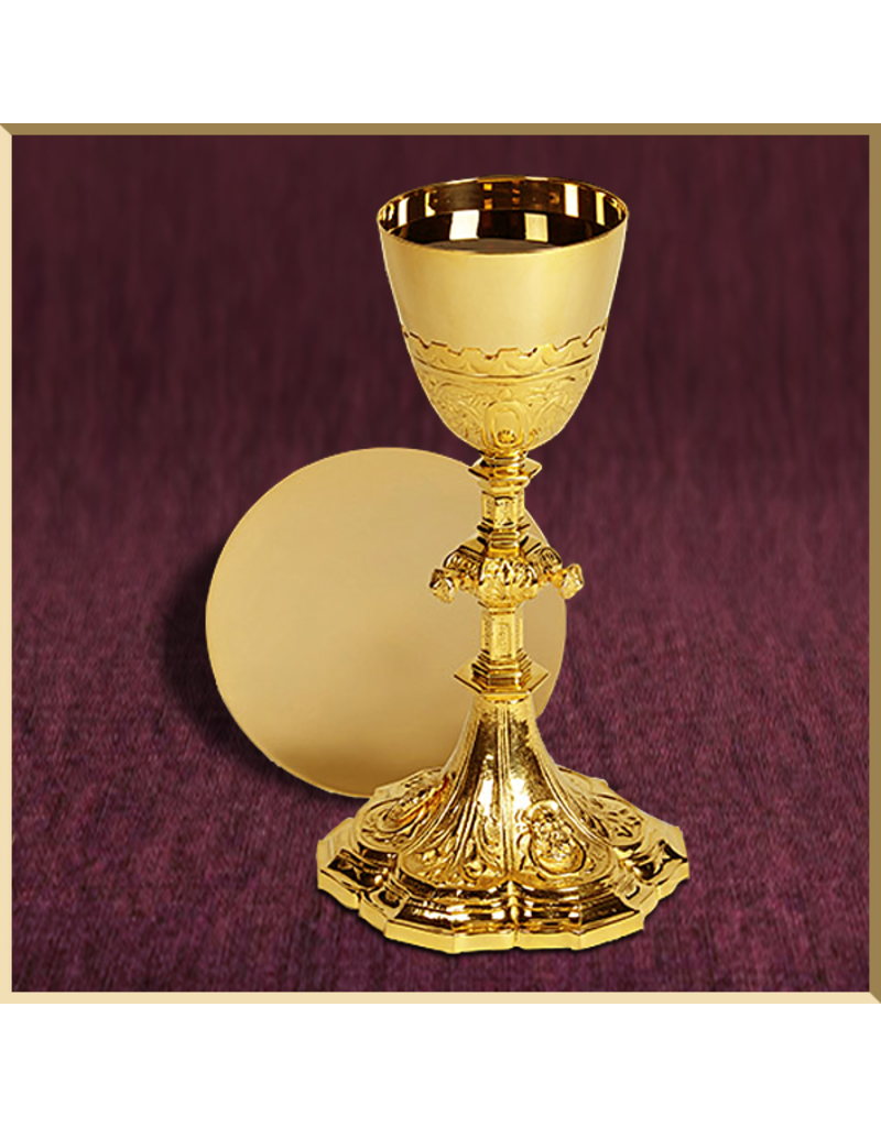 Holy Family Chalice and Paten with Case