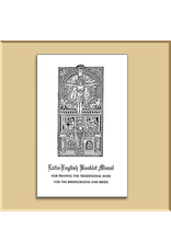 Latin-English Booklet Missal for Nuptial Mass