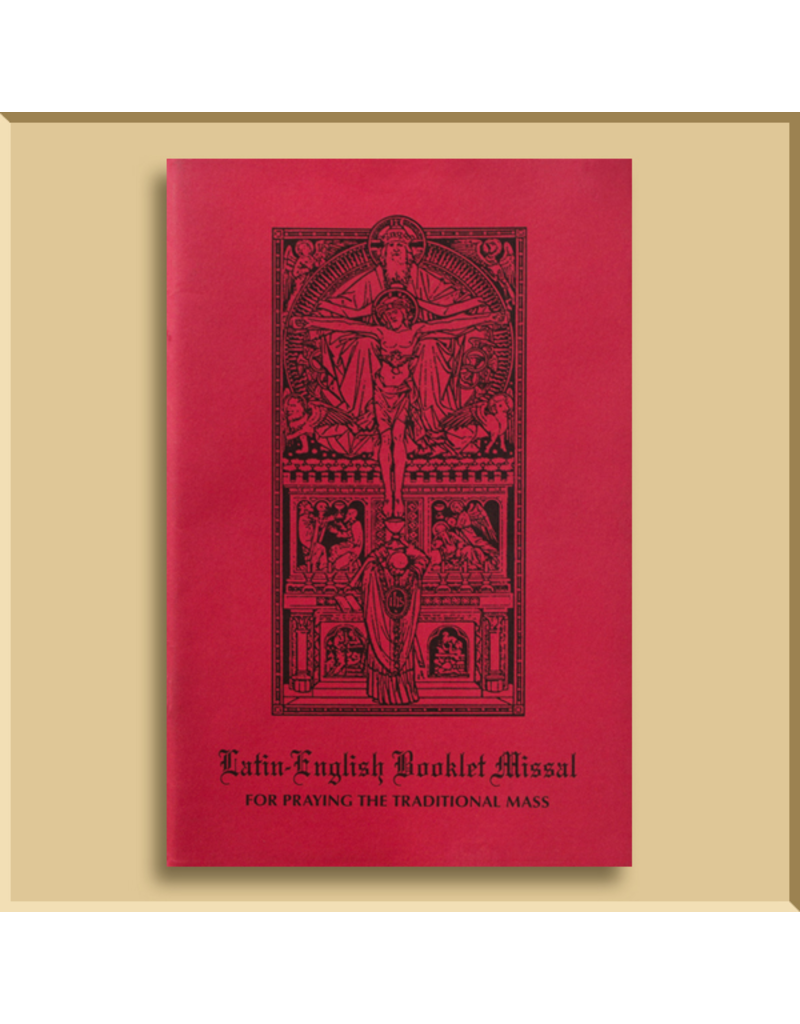 Latin-English Booklet Missal for Sundays, Feasts and Weekdays