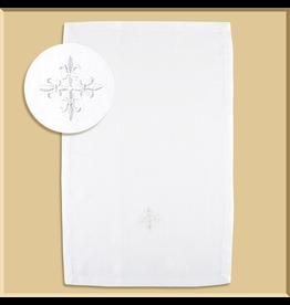 RJ Toomey Linen Fleur de Lis Purificator - 3 pack
