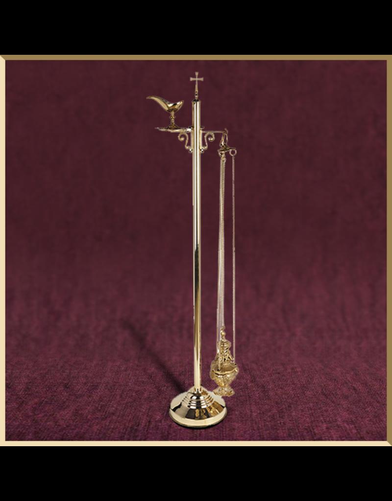 Sudbury Brass Ornate Censer Stand