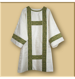 Semi-Gothic Style Dalmatic - All Liturgical Colors