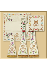 Hand Embroidered Roman Low Mass Set