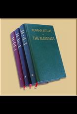 Roman Ritual (Ritual Romanum), 3 Volume Set
