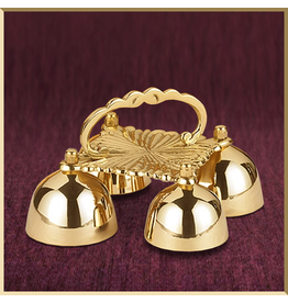 Sanctus Bells with Scalloped Handle