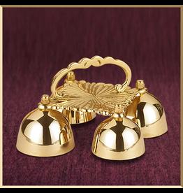 Sudbury Brass Sanctus Bells with Scalloped Handle