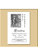 Tenebrae Service Booklet: Holy Saturday