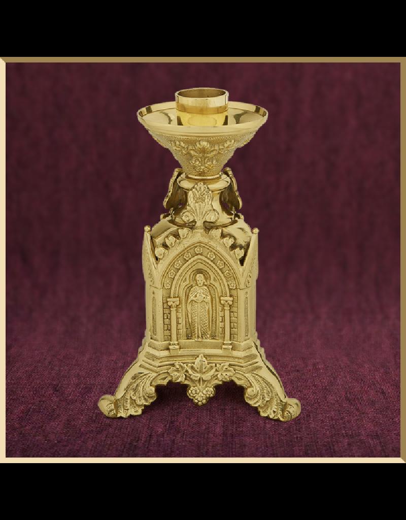 Sudbury Brass Trinity Altar Candlestick