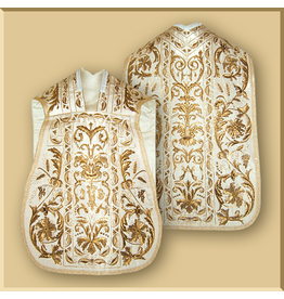 Elaborate, Hand Embroidered Roman Low Mass Set - Multiple Colors