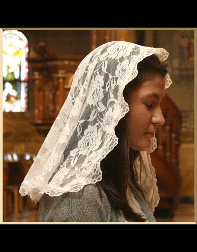 White Chapel Veil