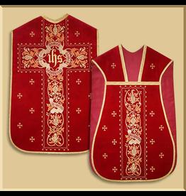 "Velvet Roman Low Mass ""Benedictum"" Set - Several Liturgical Colors"