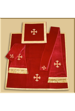 "Velvet Roman Low Mass ""Benedictum"" Set - Several Liturgical Colors"