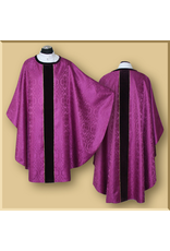 Semi-Gothic Concelebrent Chasuble with Stole - Various Colors