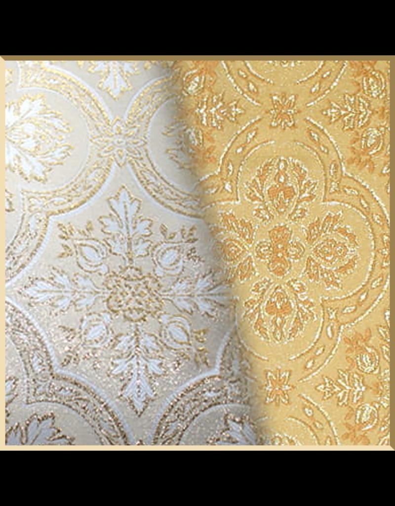 Semi-Gothic Style Low Mass Set - Gold Brocade Fabric