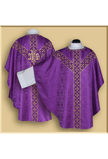 Semi-gothic Low Mass Set with Fleur-de-lis Orphreys - Various Colors