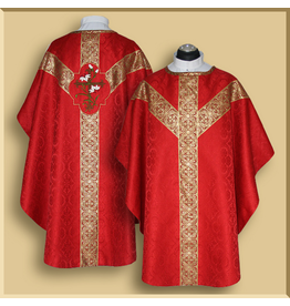 Semi-Gothic Low Mass Set with Lily Emblem - All Liturgical Colors