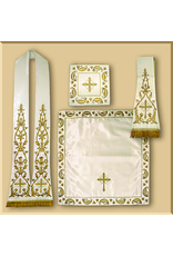 Machine Embroidered Roman Low Mass Set I - Various Colors