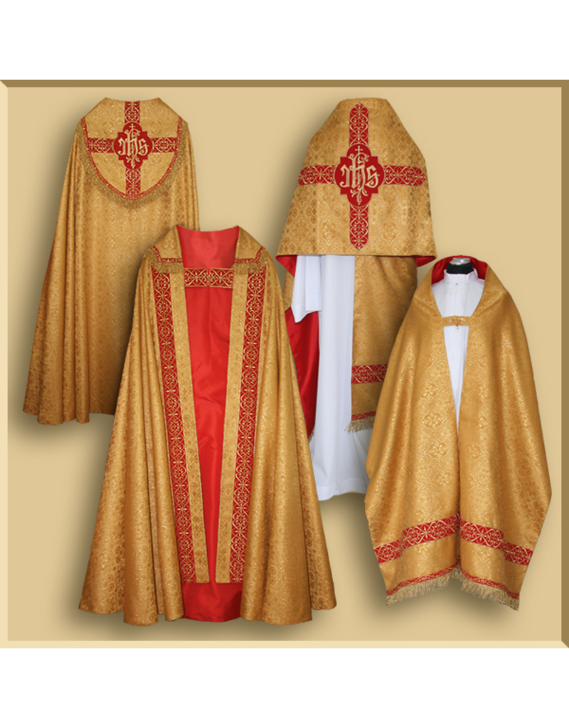 Semi-gothic Benediction Set