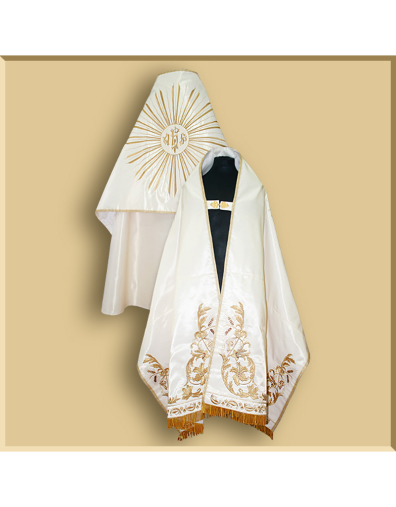 Ornate Italian Style High Mass Set with Bishop's Mitre