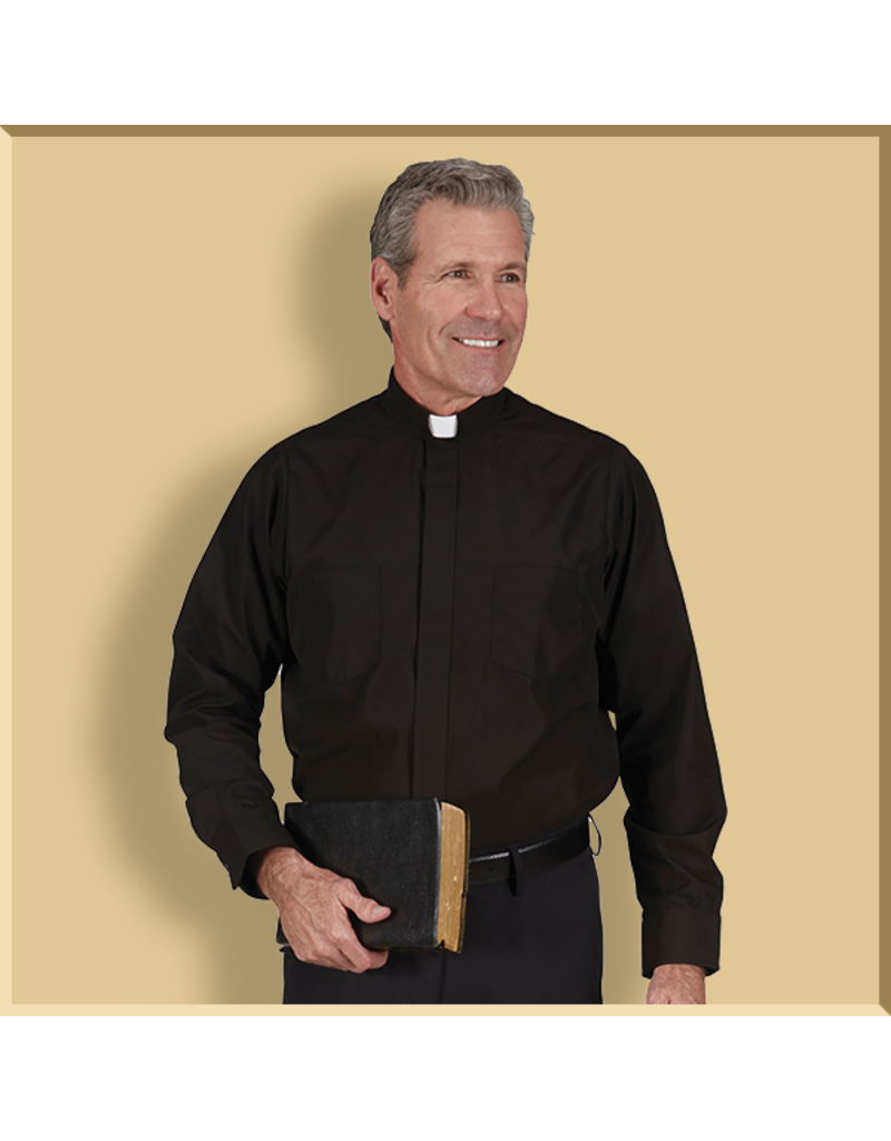 RJ Toomey Long Sleeve Clergy Shirt