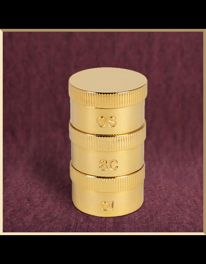 Sudbury Brass Triple Oil Stock Set