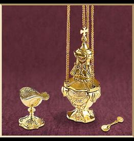 Cast Brass Censer