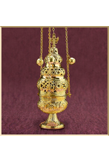 Ornate Censer with 12 Bells