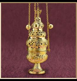 Ornate Censer with 12 Bells