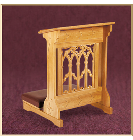 Canterbury Padded Kneeler ~ Medium Oak Finish