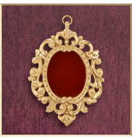 Small Ornate Pendant Reliquary