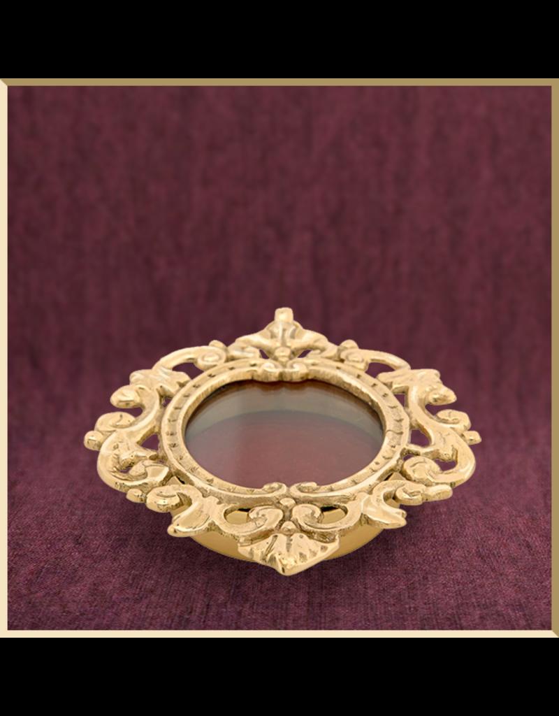 Small Ornate Pendant Reliquary