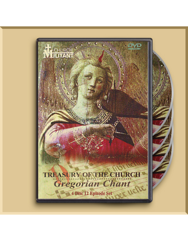 DVD - Treasury of the Church: Gregorian Chant